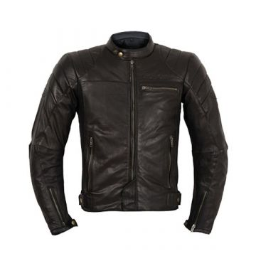 Prexport Ghost Leather Jacket - Black