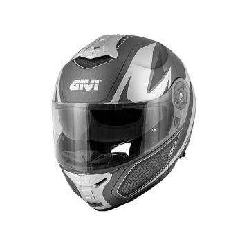 Givi X.21 Challenger Man Helmet - Matt, Silver, Titanium