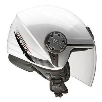 Givi 10.4 Demi-Jet Helmet - White
