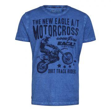 Goodyear T-Shirt Sebec-Vintage Blue