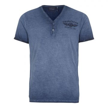 Goodyear T-Shirt Millington-Marl Navy