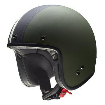 Givi 20.7 Oldster-Jet Helmet-Green