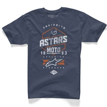 Alpinestars Hexlock T Shirt-Navy-M