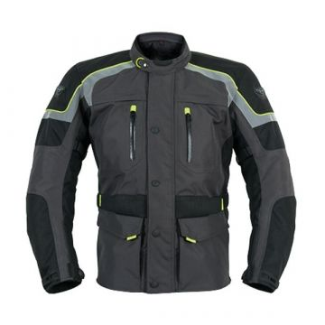 Prexport Monaco Touring Jacket Black / Yellow