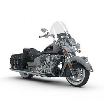 Indian® Chief Vintage® - Silver over Thunder Black