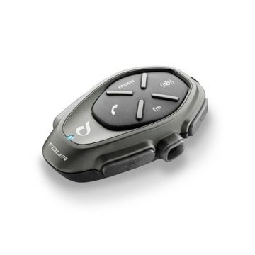 Interphone Tour Bluetooth Motorcycle Communicator-Single pack