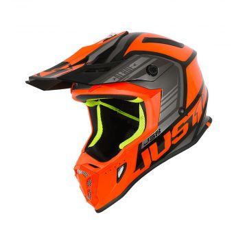 Just1 J38 Blade Orange / Black Gloss MX Helmet