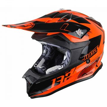 JUST1 J32 PRO KICK ORANGE KIDS HELMET