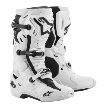 Alpinestars Tech 10 Boots Supervented - White