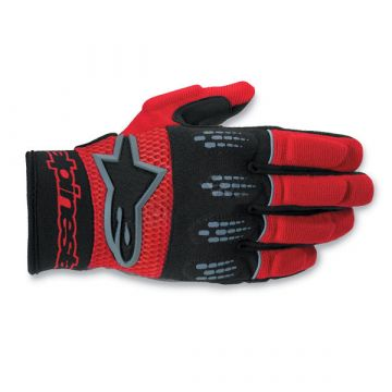 ALPINESTARS M-4 GLOVES BLACK/RED