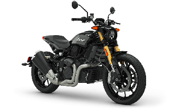 Indian® FTR™ 1200 S - Titanium Metallic over Thunder Black Pearl