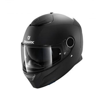 Shark Spartan Helmet - Mat Black