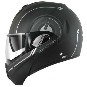 Shark Evoline Series 3 Helmet - Moov Up - Black