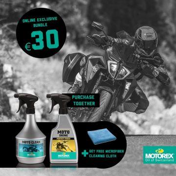 Motorex Moto Clean Bundle - Online Exclusive