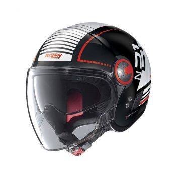 Nolan N21 Runabout Visor Jet Helmet - Flat Black