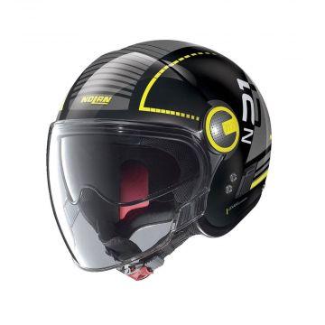 Nolan N21 Runabout Visor Jet Helmet - Glossy Black