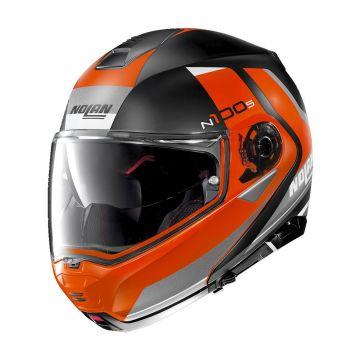 Nolan N1005 Hilltop N-Com Helmet - Flat Black