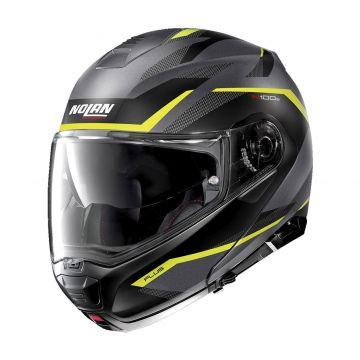 Nolan N1005 Plus Overland N-Com Helmet - Flat Lava Grey