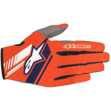 Alpinestars Neo Gloves - Orange Fluo/Dark/Blue