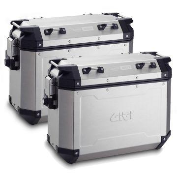 Givi OBKN37AL Trekker - Aluminum Side Cases Pair - 37 Litre