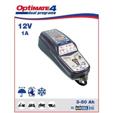OptiMATE 4 Dual Program - BATTERY CHARGER