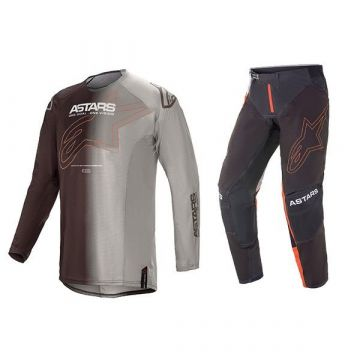Alpinestars Techstar Phantom - Gear Set - Anthracite Orange - 40