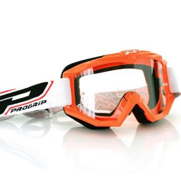 Progrip 3201 Race Line Goggles-Orange