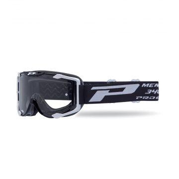 Progrip 3400 Goggles - Black (Clear Lens)