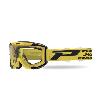 Progrip 3400 Goggles - Yellow (Clear Lens)