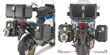 GIVI PLO1178CAM SPECIFIC PANNIER HOLDER FOR HONDA CRF1100L 19