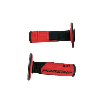 ProGrip 801 Grips - Black/Red