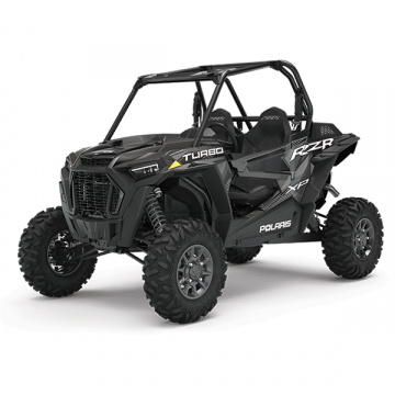 RZR 64 XP Turbo EPS - Stealth Black