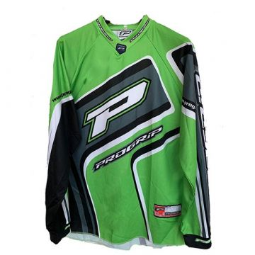 Progrip Cross + Enduro Jersey Racing Green  Size XL