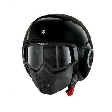 Shark RAW Helmet - Black
