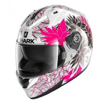 Shark Ridill Helmet - White, Black, Violet
