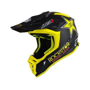 Just1 J38 Rockstar - Motocross/Enduro Helmet