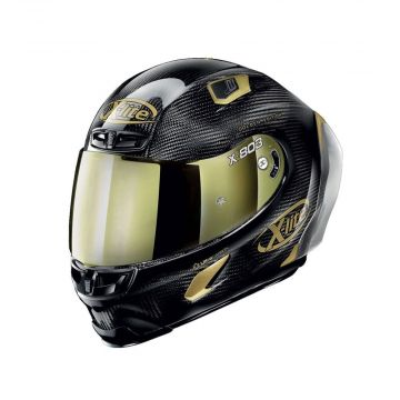 X-Lite X-803 RS Ultra Carbon Helmet - Carbon Gold