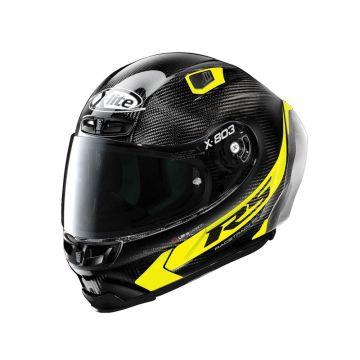 X-Lite X-803 RS Ultra Carbon Helmet - Carbon Yellow