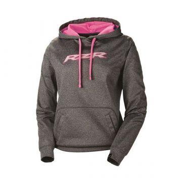 Polaris Women's Vapor Hoodie - Grey/Pink