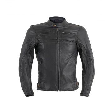 Prexport Shadow Leather Jacket - Black