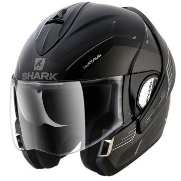 Shark-Evoline3-HATAUM-Helmet-Black