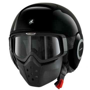 Shark RAW Helmet - Black