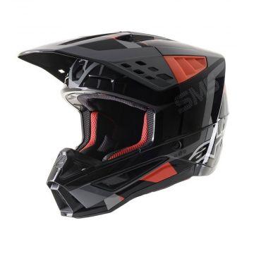 Alpinestars SM5 Rover Helmet -Black/Red