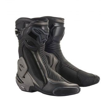Alpinestars SMX Plus V2 Boots - Dark / Black Gray
