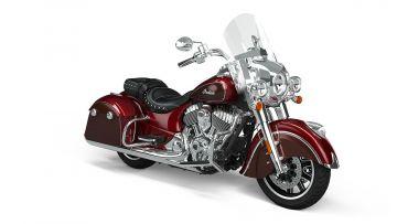 Indian® Springfield® - Maroon Metallic / Crimson Metallic