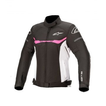 Alpinestars Stella T-SPS Waterproof Jacket - Black / White / Fuxia