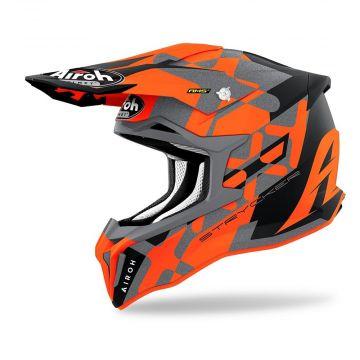 Airoh Strycker XXX MX Helmet - Orange Matt
