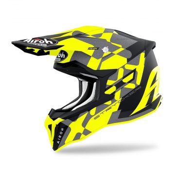 Airoh Strycker XXX MX Helmet - Yellow Matt
