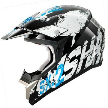 Shark SX2 FREAK Helmet - White/Black/Blue