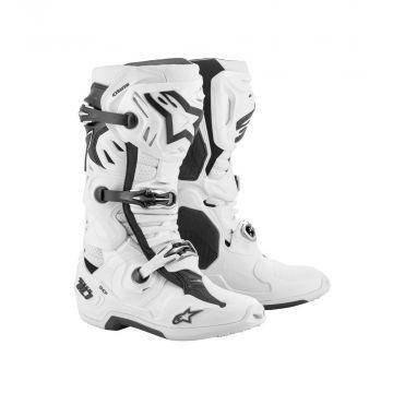 Alpinestars Tech 10 Boots Supervented - White